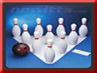 Giant Bowling and other party games for hire in Blackpool, Lancashire and NW England