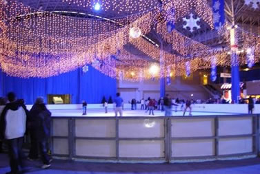 Mobile ice rink