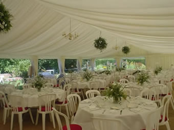 Wedding marquees for hire, Blackpool area, North West England and anywhere in the UK on request